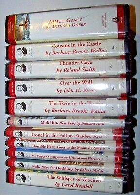 Lot Of 11 Audio Books On Cassette ~ Mostly Children Tales