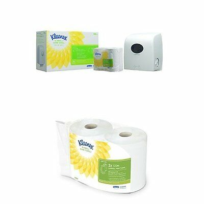 Kleenex Airflex Hand Towel Dispenser Starter Pack product code 7992 Plus Refill