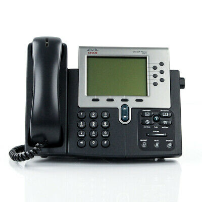 Cisco CP-7961G Unified IP Phone VoIP Telephone 7961 NO AC Adapter