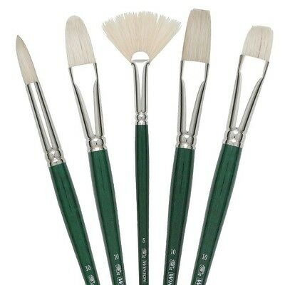 Winsor & Newton Winton Hog Brushes - Acrylic & Oil - Large Choice - Paintbrushes