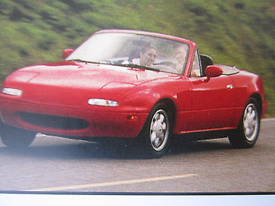 Mazda MX-5 Owners Manual Enthusiast Zoom Small Roadster Rare Book 2006?