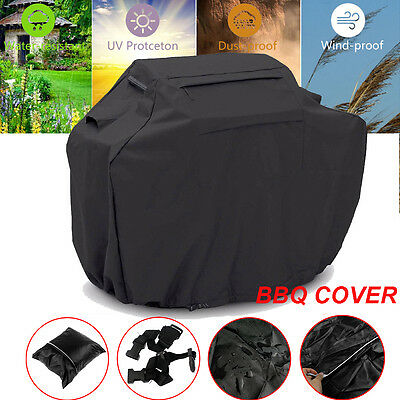 Heavy Duty BBQ Grill Cover Outdoor UV Waterproof Gas Charcoal Barbecue Protector