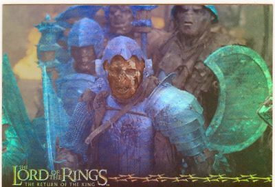 Lord Of The Rings RotK Prismatic Foil Chase Card 9 Of 10
