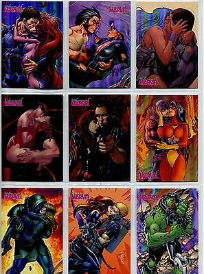 Women Of Marvel Series 2 Complete Embrace Chase Card Set E20-37