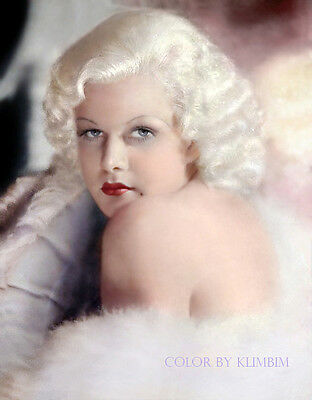 Jean Harlow Movie Superstar 8X10 Glossy Photo