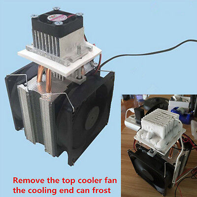 72W Semiconductor Refrigeration Thermoelectric Peltier Air Single Cooling Cooler