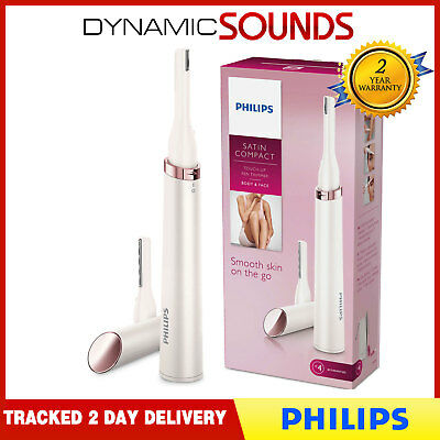 Philips Touch-up Pen Trimmer Body & Face Tweezers Eyebrow Comb Brush HP6393/00
