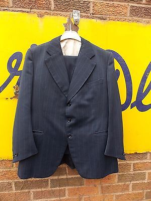 Vintage Gents Madeira Almada Three Piece Tailor Made Suit. Dates to the 40s CC41