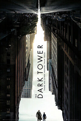 "THE DARK TOWER - MOVIE POSTER / PRINT (TEASER / ADVANCE) (SIZE: 24"" x 36"")"
