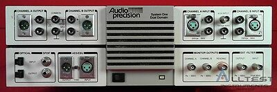 Audio Precision SYS-322A audio analyzer, analog & digital I/O