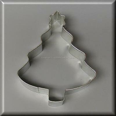 "4"" Tree With Star Metal Cookie Cutter #na1052"