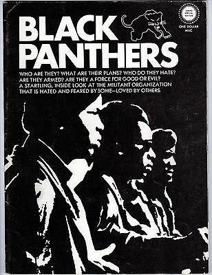 Original 1969 BLACK PANTHERS *Special Edition Magazine* BOBBY SEALE, HUEY NEWTON