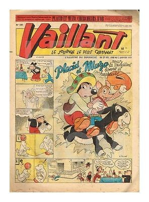 Vaillant   N°    189   1949   Be/be+