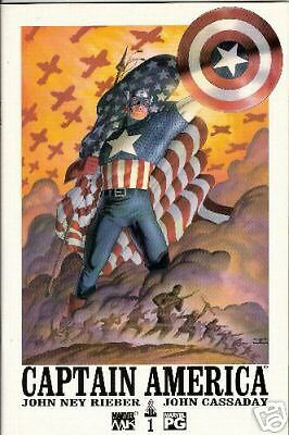 Captain America #1 (4Th Series) (Marvel Knights)  2002
