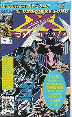 X-Factor #86 (Marvel) 1St Series (Pre-Bagged + Card)