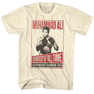 Muhammad Ali Boxing Legend The Greatest Of All Time Adult T-Shirt Tee Kenreagan