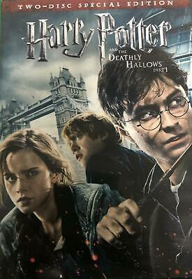 Harry Potter and the Deathly Hallows Part 1 DVD 2-Disc Special Edition NEW