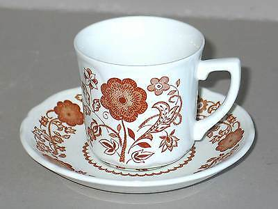 Vintage J G Meakin England WOBURN Ironstone Tea Cup SAUCER Mint FREE SH