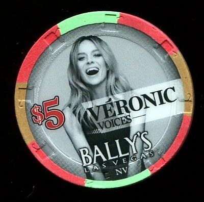 $5 Las Vegas Bally's Veronic Casino Chip - NM