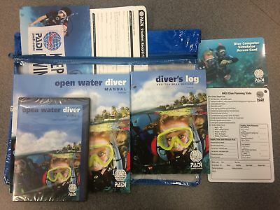 PADI Open Water- Dive Computer Crew Pack Training Materials for Scuba Divers