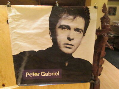 PETER GABRIEL - So - 30 x 30 inches promo POSTER   genesis