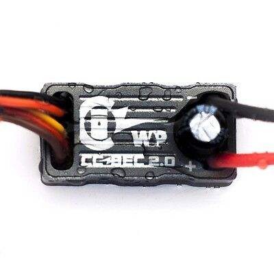 Castle Creations BEC 2.0, 15A Peak, 50.4V Max Voltage Input, Waterproof OZ RC