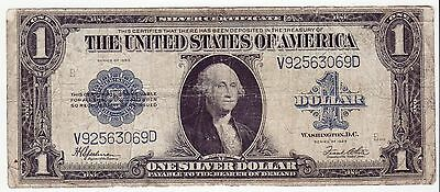 Series 1923 $1 Dollar Large United States Silver Certificate Note Fr#237(3069)