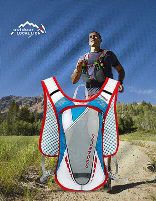 Sport Vest Hydration Backpack Marathoner Running Race Cycle Off-road Jogging Bag