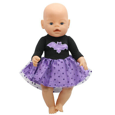 1set Doll Clothes Wear for 43cm Baby Born zapf (only sell clothes ) MG-183
