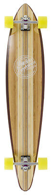 Mindless Maverick III Talisman Longboard / Skateboard - Brown + FREE STICKERS