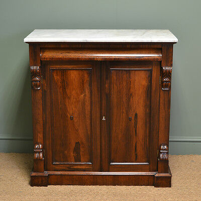 Spectacular William IV Antique Rosewood Chiffonier / Cabinet
