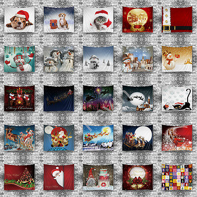 Wall Hanging Tapestry Christmas Tapestries Wall Xmas Ornamentation Polyester