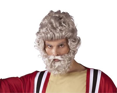 Moses Wig And Beard Costume Accessory Set Adult One Size