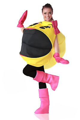 Ms. Pac-Man 3D Costume Adult One Size Fits Most
