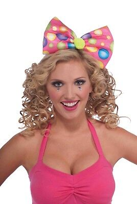 Circus Sweetie Bow Headband Costume Accessory One Size