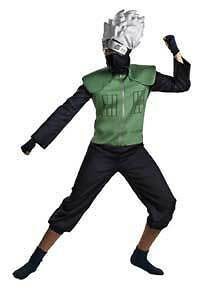 Naruto Kakashi Deluxe Child Costume 7-8