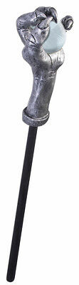 Witch And Warlock Crystal Ball Cane Costume Accessory Teen/Adult