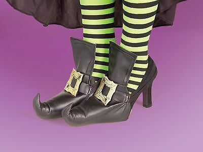 Gold Witch Costume Shoes Covers