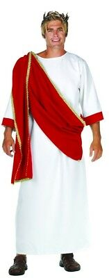 Ceasar The Great Greek Red Drape Costume Robe Adult Standard
