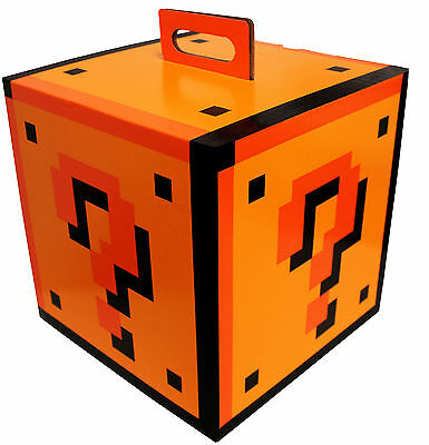 Super Mario Bros. Question Mark 5x5x5 Gift Mystery Box, Set of 3