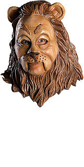 Wizard Of Oz Deluxe Cowardly Lion Latex Costume Mask