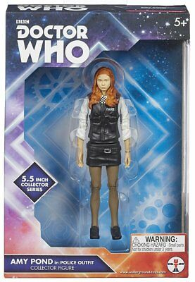 """Doctor Who 5.5"""" Action Figure: Amy Pond (Police Outfit)"""