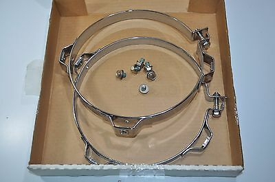 """NEW Nelson 9"""" Exhaust Clamps Brackets Part# 89762K-10"""
