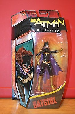 2012 Mattel DC Comics Classics BATMAN UNLIMITED Action Figure BATGIRL MOC sealed