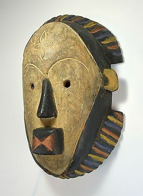 A Lovely Colorful Pende Mask, African Art, African mask