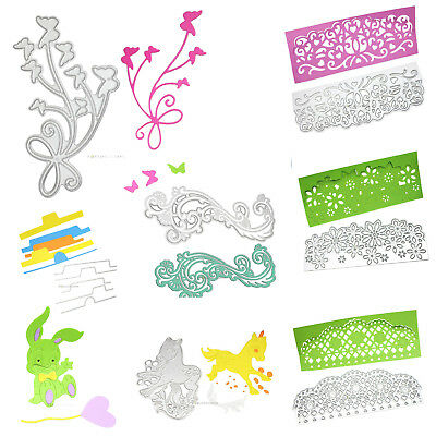2017 New Metal Cutting Dies Stencil Scrapbook Paper Cards Embossing DIY Craft