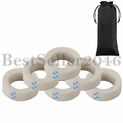 6 Rolls Medical Micropore Tape for Individual False Eyelash Extension Supply