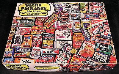 1973 Topps Wacky Packages JAYMAR JIGSAW PUZZLE complete 800/800 pcs #1537 w/box