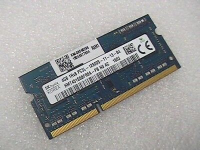 4Gb DDR3L-12800S laptop 204-pin SODIMM RAM made by Hynix