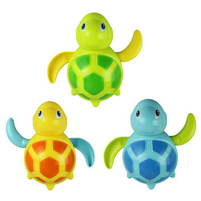 Floating Wind-up Swimming Turtle Summer Toy For Baby Kids Children Pool Bath US